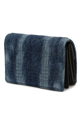 Женские кошелек на цепочке jessie BURBERRY синего цвета, арт. 8026993 | Фото 2