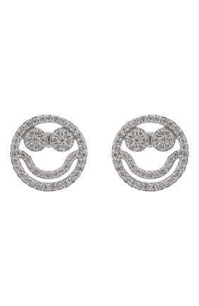 Женские серьги J-POINT серебряного цвета, арт. Sm857.95.181119.2W   Фото 1