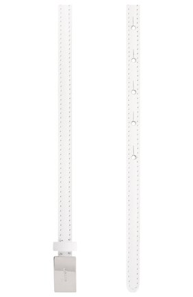 Женский кожаный ремень KITON белого цвета, арт. DCKRETX05S55 | Фото 2