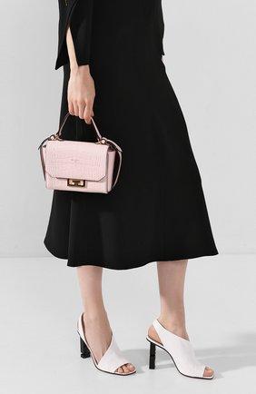 Женская сумка eden mini GIVENCHY розового цвета, арт. BBU005B0LK | Фото 2