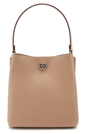 Женская сумка charlie COACH бежевого цвета, арт. 89101 | Фото 1