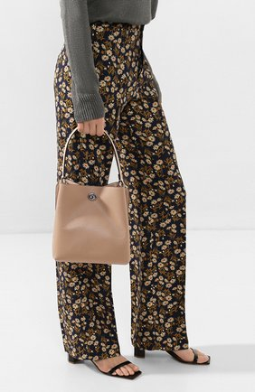 Женская сумка charlie COACH бежевого цвета, арт. 89101 | Фото 2