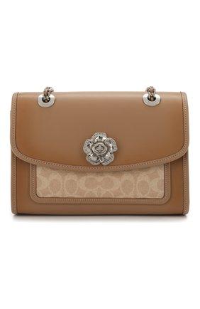 Женская сумка COACH бежевого цвета, арт. 89112 | Фото 1