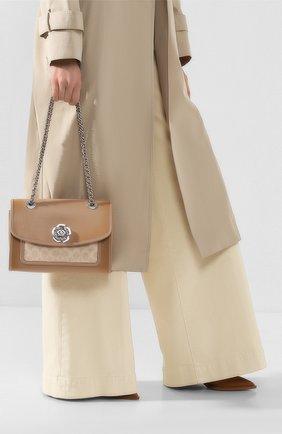 Женская сумка COACH бежевого цвета, арт. 89112 | Фото 2