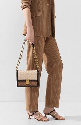 Женская сумка hutton COACH коричневого цвета, арт. 92308 | Фото 2