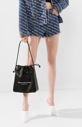 Женская сумка ryan ALEXANDER WANG черного цвета, арт. 20C120R190 | Фото 2