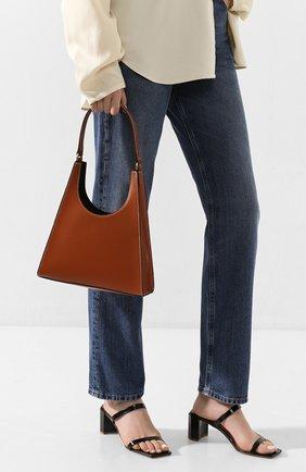 Женская сумка rey STAUD коричневого цвета, арт. 207-9125 | Фото 2
