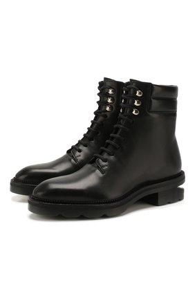 Женские кожаные  ботинки andy ALEXANDER WANG черного цвета, арт. 30C120B007 | Фото 1