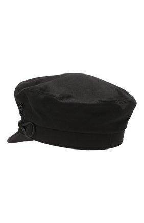 Женская кепи new abby MAISON MICHEL черного цвета, арт. 2213041001/NEW ABBY | Фото 2