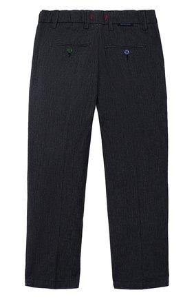 Детские хлопковые брюки BARONIO KIDS синего цвета, арт. S2051-PRINCE | Фото 2