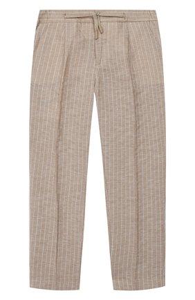 Детские брюки BARONIO KIDS бежевого цвета, арт. S2044-SN0W | Фото 1