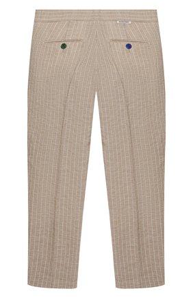 Детские брюки BARONIO KIDS бежевого цвета, арт. S2044-SN0W | Фото 2