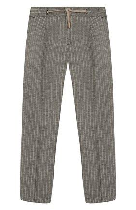 Детские брюки BARONIO KIDS хаки цвета, арт. S2044-SN0W | Фото 1