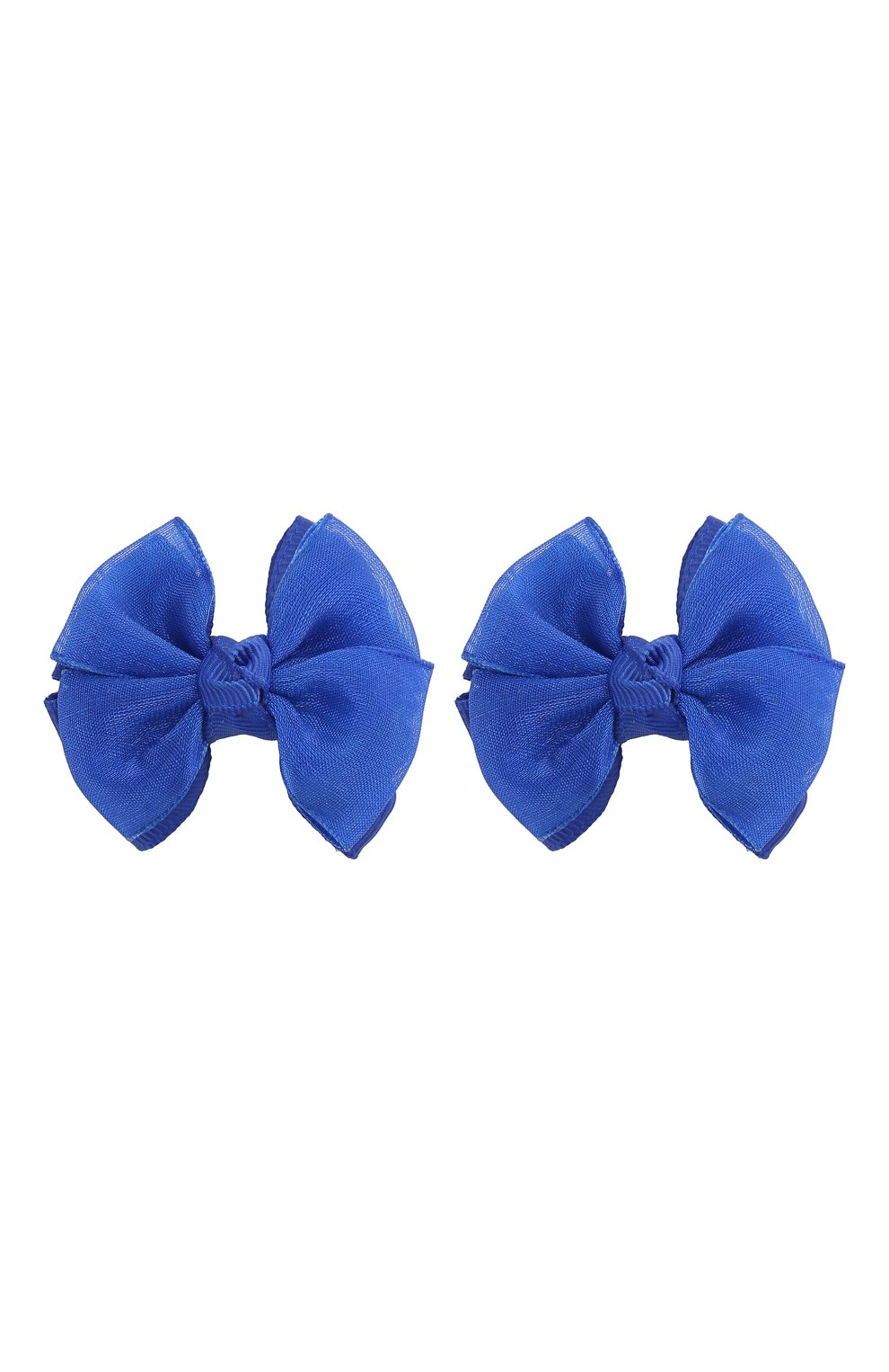 Детская комплект из двух заколок JUNEFEE синего цвета, арт. 4424   Фото 1