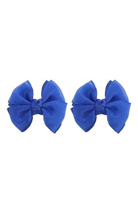Детская комплект из двух заколок JUNEFEE синего цвета, арт. 4424 | Фото 1