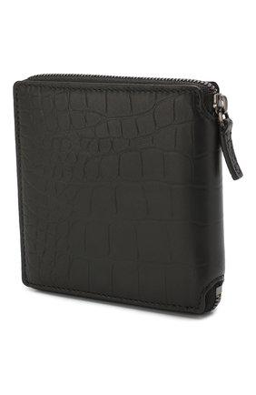 Мужской кожаное портмоне  b. BALENCIAGA черного цвета, арт. 601354/1JU7W | Фото 2