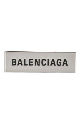 Мужская значок visitor BALENCIAGA серебряного цвета, арт. 619919/TZ39J | Фото 1