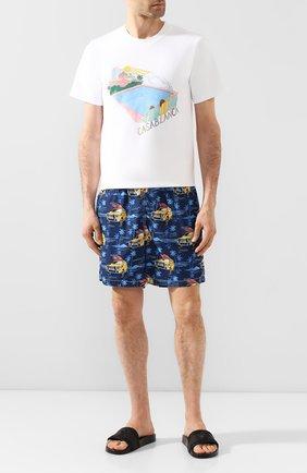 Детского плавки-шорты MC2 SAINT BARTH темно-синего цвета, арт. STBM LIGHTING/LIG0001 | Фото 2