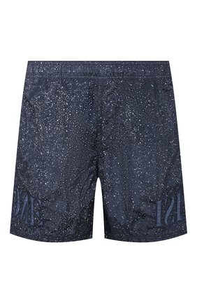Детского плавки-шорты STONE ISLAND темно-синего цвета, арт. 7215B0444 | Фото 1