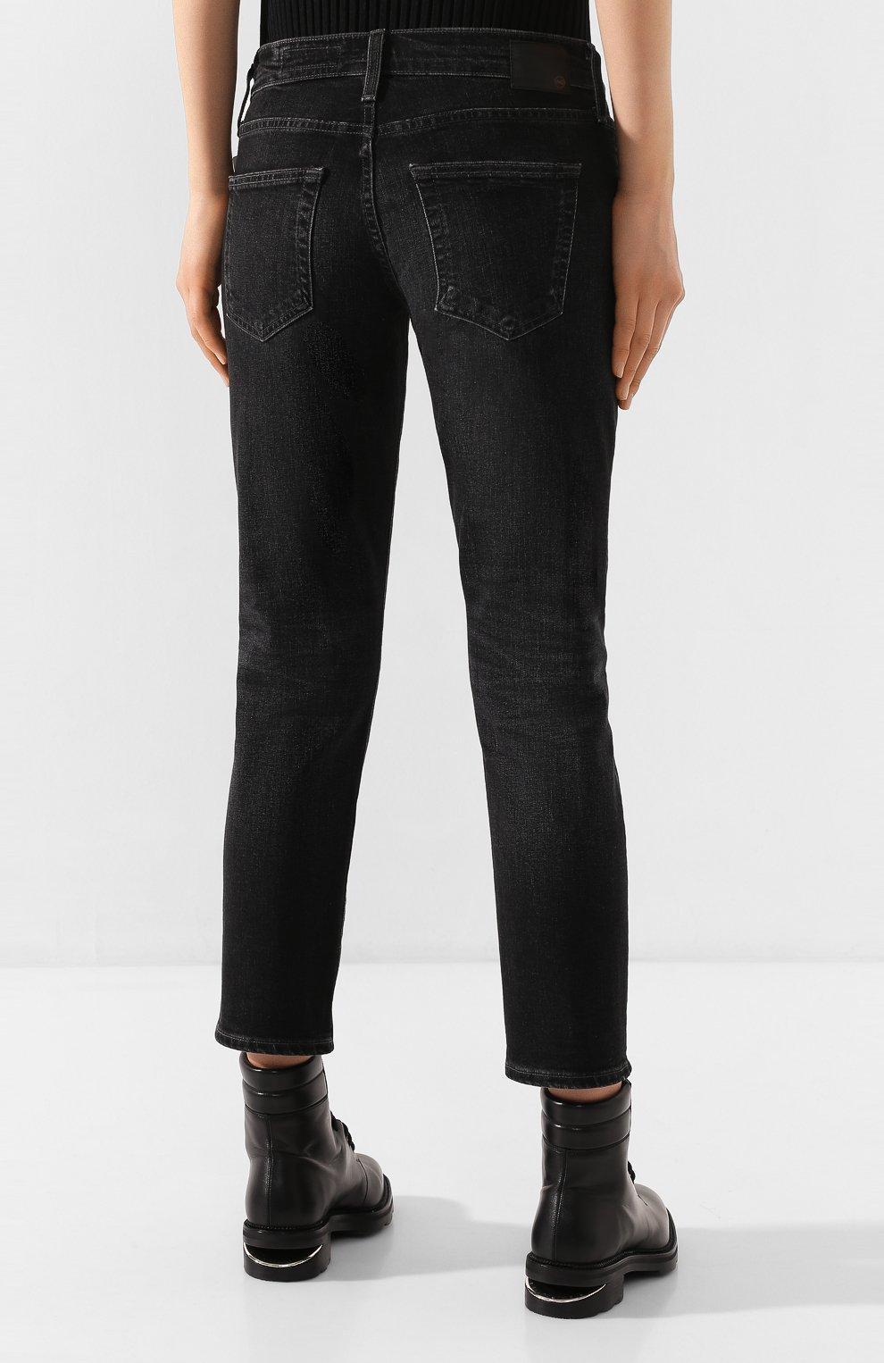 Женские джинсы AG серого цвета, арт. STS1575/05YRSV | Фото 4