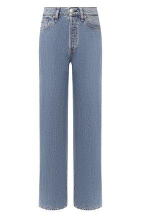 Женские джинсы RAG&BONE синего цвета, арт. WDD20S2665B1MI | Фото 1