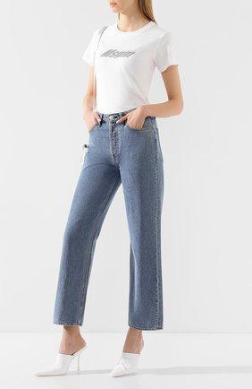 Женские джинсы RAG&BONE синего цвета, арт. WDD20S2665B1MI | Фото 2