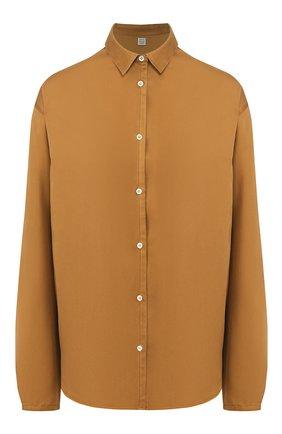 Женская шелковая рубашка TOTÊME коричневого цвета, арт. BENICIA 201-703-716 | Фото 1