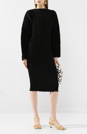 Женское платье TOTÊME черного цвета, арт. MIA VANA 202-609-723 | Фото 2