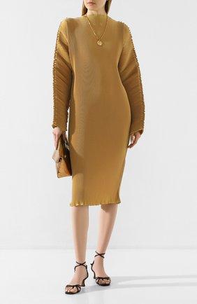 Женское платье TOTÊME бежевого цвета, арт. MIA VANA 202-609-723 | Фото 2