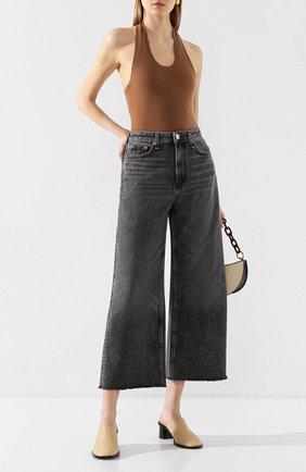 Женские джинсы RAG&BONE серого цвета, арт. WDD20S264604BM | Фото 2