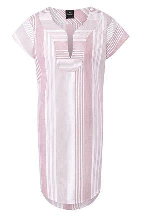 Женские хлопковое платье LE CHAT светло-розового цвета, арт. BUNGALOW840 | Фото 1