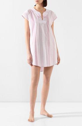 Женские хлопковое платье LE CHAT светло-розового цвета, арт. BUNGALOW840 | Фото 2