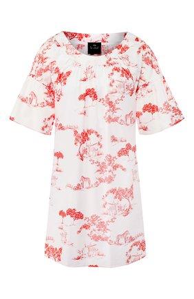 Женская хлопковая сорочка LE CHAT белого цвета, арт. HARMATTAN840   Фото 1