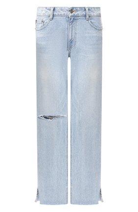 Женские джинсы STEVE J & YONI P голубого цвета, арт. PW2A3N-PC149W | Фото 1