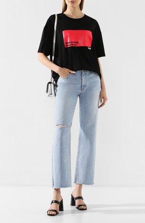 Женские джинсы STEVE J & YONI P голубого цвета, арт. PW2A3N-PC149W | Фото 2