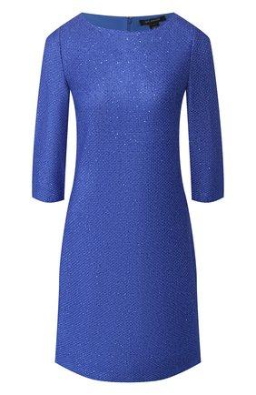 Женское платье ST. JOHN синего цвета, арт. K12Z052 | Фото 1