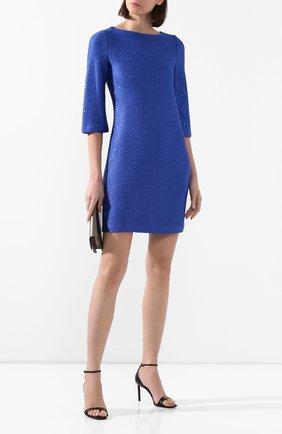 Женское платье ST. JOHN синего цвета, арт. K12Z052 | Фото 2
