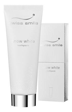 Отбеливающая зубная паста snow white SWISS SMILE бесцветного цвета, арт. 7640131976022 | Фото 2