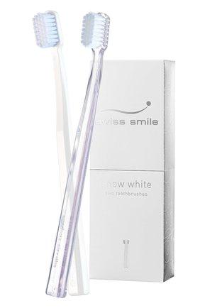 Набор отбеливающих зубных щёток snow white SWISS SMILE бесцветного цвета, арт. 7640131976053 | Фото 1