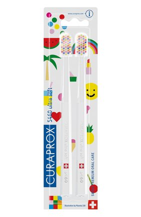"Набор зубных щеток ""ultrasoft"" duo pop art CURAPROX бесцветного цвета, арт. 7612412424782 | Фото 2"
