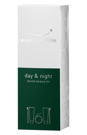 Набор для отбеливания и восстановления зубов day & night SWISS SMILE бесцветного цвета, арт. 7640131976213 | Фото 2