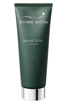 Витаминно-травяная зубная паста herbal bliss SWISS SMILE бесцветного цвета, арт. 7640131976039 | Фото 2