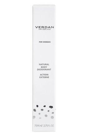 Женский минеральный дезодорант-спрей VERDAN бесцветного цвета, арт. 9788492808274 | Фото 2