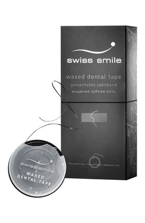 Вощеная зубная лента SWISS SMILE бесцветного цвета, арт. 7640131976077 | Фото 2