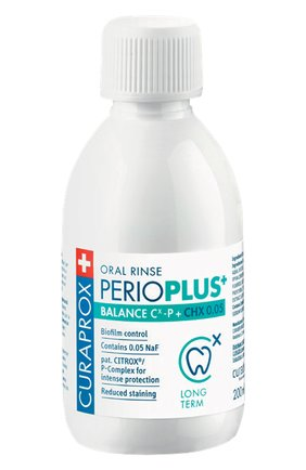 Жидкость-ополаскиватель perio plus balance CURAPROX бесцветного цвета, арт. 7612412426762 | Фото 1
