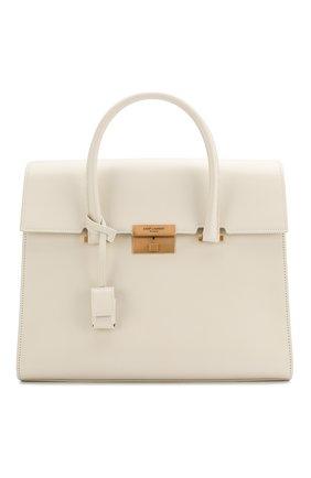 Женская сумка bianca SAINT LAURENT белого цвета, арт. 608976/02G0W | Фото 1