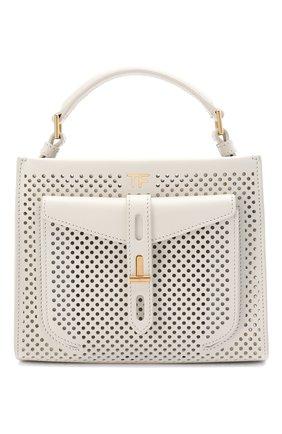 Женская сумка t twist mini TOM FORD белого цвета, арт. L1259T-ICL002 | Фото 1