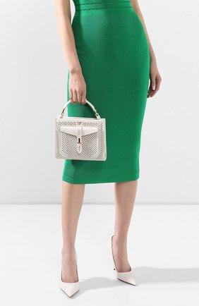 Женская сумка t twist mini TOM FORD белого цвета, арт. L1259T-ICL002 | Фото 2