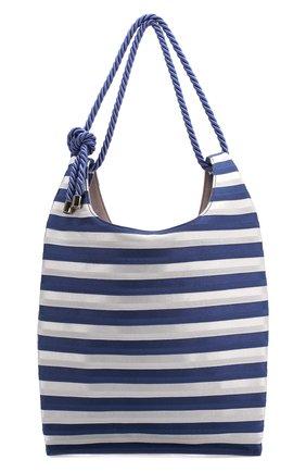 Женская сумка-шопер GIORGIO ARMANI синего цвета, арт. Y1D151/YFQ1A | Фото 1