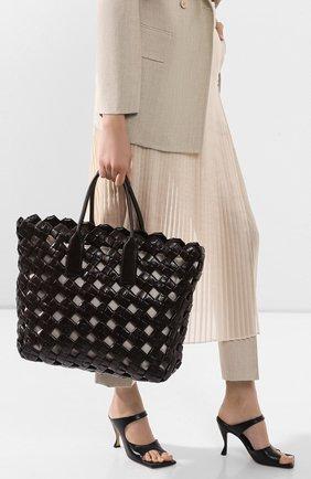 Женская сумка bv window BOTTEGA VENETA коричневого цвета, арт. 608606/VCQJ1 | Фото 2